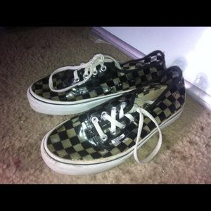 Vans transparent shoes